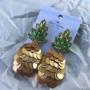 kate spade Jewelry - Authentic Kate Spade Pineapple Earrings